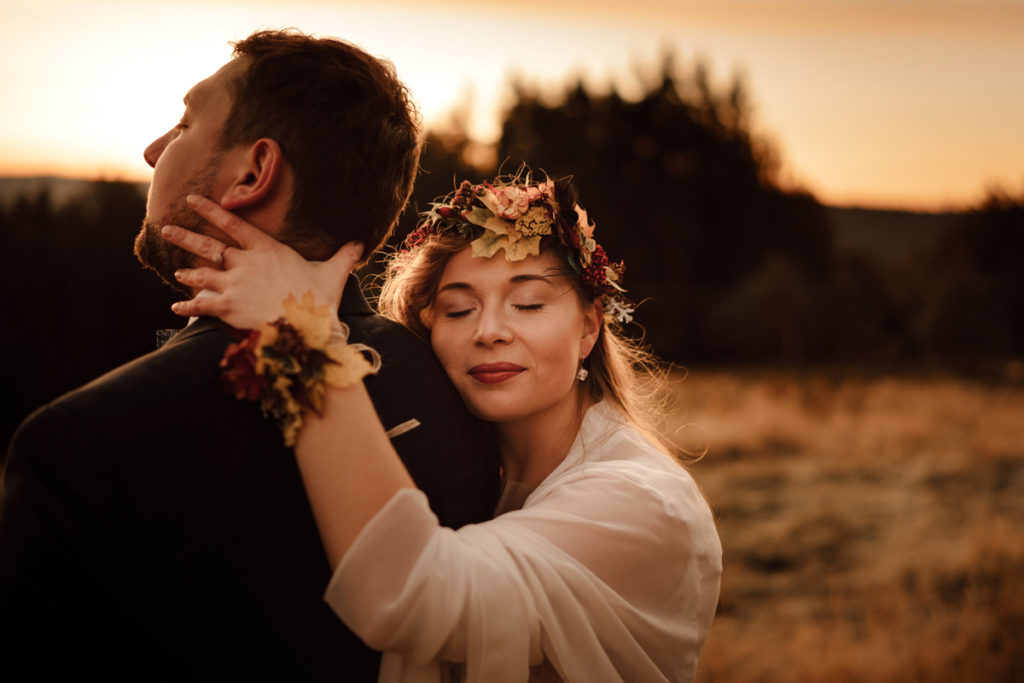 sesja ślubna w Beskidach