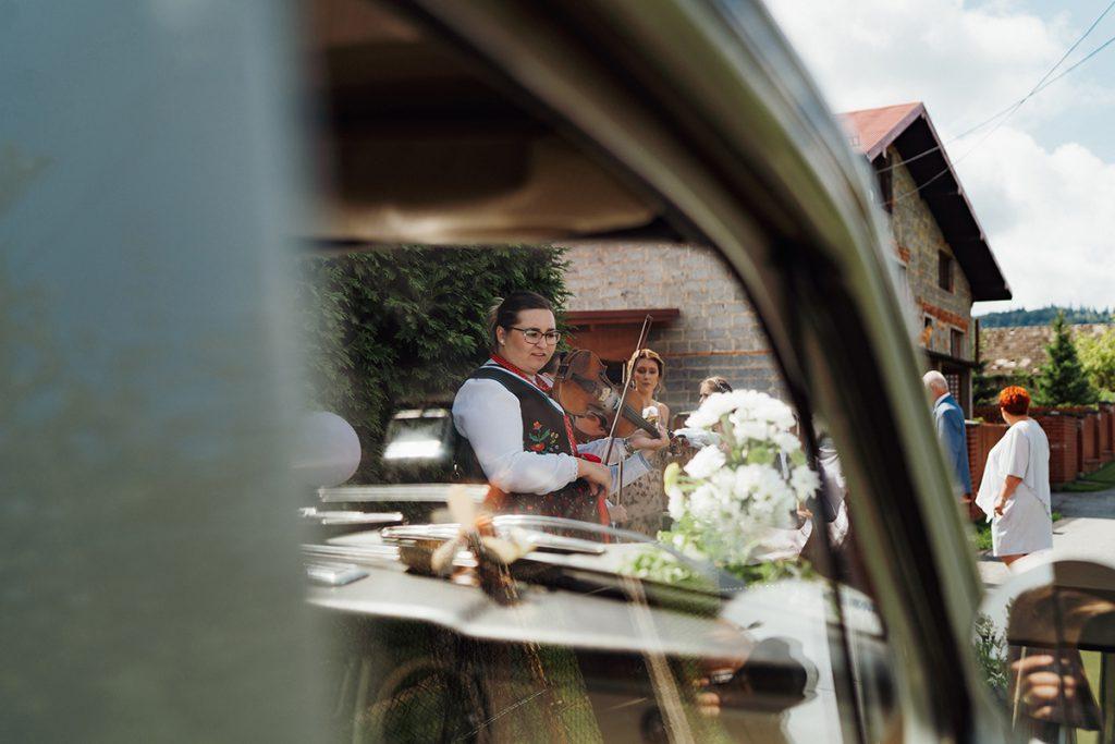 Reportaż ślubny, fotografia ślubna Żywiec